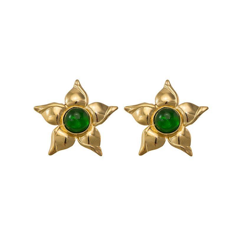 brinco-flor-verde
