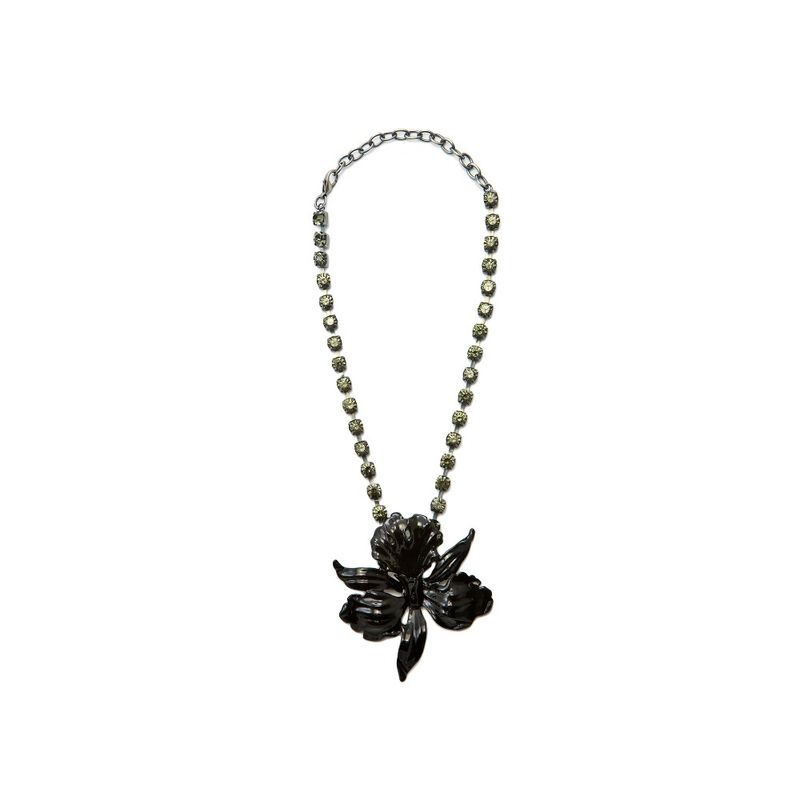 choker-orquidea-strass-preto-cinza