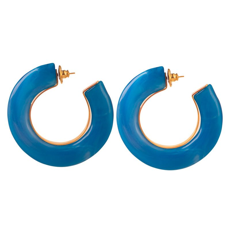 brinco-argola-resina-metal-azul