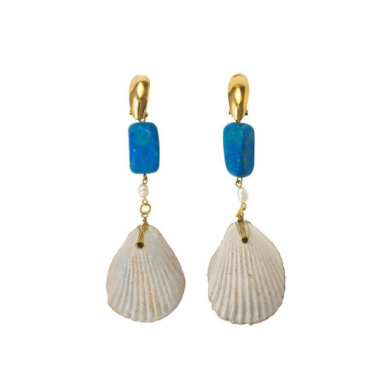 Brinco-Concha-de-Ceramica-Azul